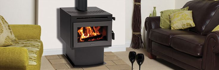 Masport Heating: F2000 FREESTANDING FIRES  -  The F2000 efficiently heats small to medium sized areas. The flush front window gives a warm open feeling and the glass door opens past 90 degrees to make refueling easier. #Heating #WoodFireHeating #FreestandingFires #Masport #HearthHouse