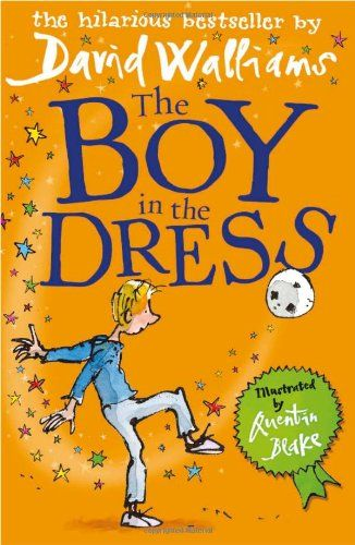 The Boy in the Dress by David Walliams April. A funny book.