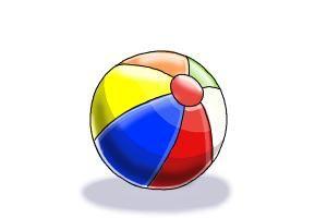 how to make a beach ball