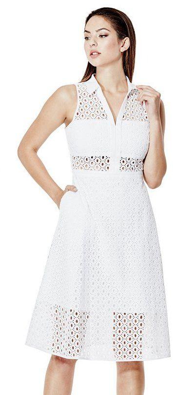 Elise Eyelet Dress