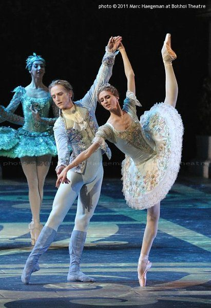David Hallberg and Svetlana Zakharova in Sleeping Beauty - Bolshoi Theatre