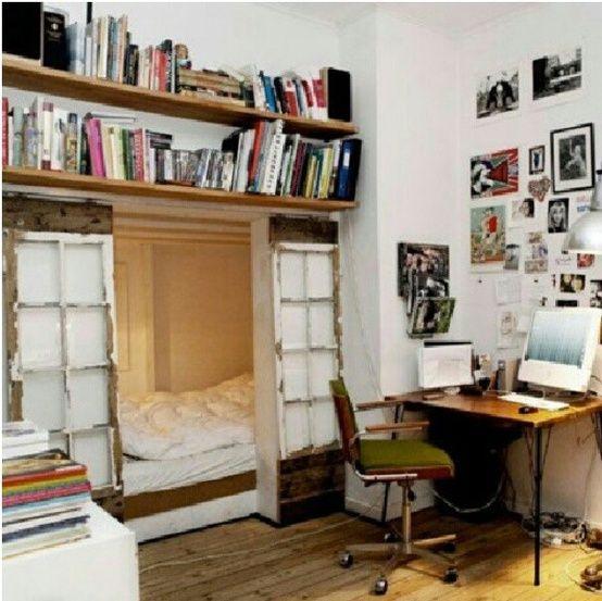 Hidden Bedroom Door Double Bed Bedroom Wooden Accent Wall Bedroom Aesthetically Pleasing Bedroom: 38 Super Practical Hidden Beds To Save The Space