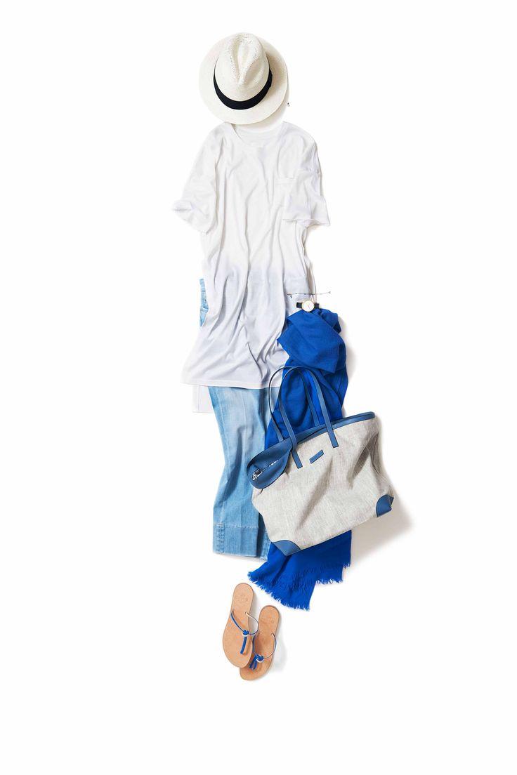 空の白とブルー / コーディネート詳細 / Kyoko Kikuchi's Closet | 菊池京子のクローゼット [ K.K closet ]
