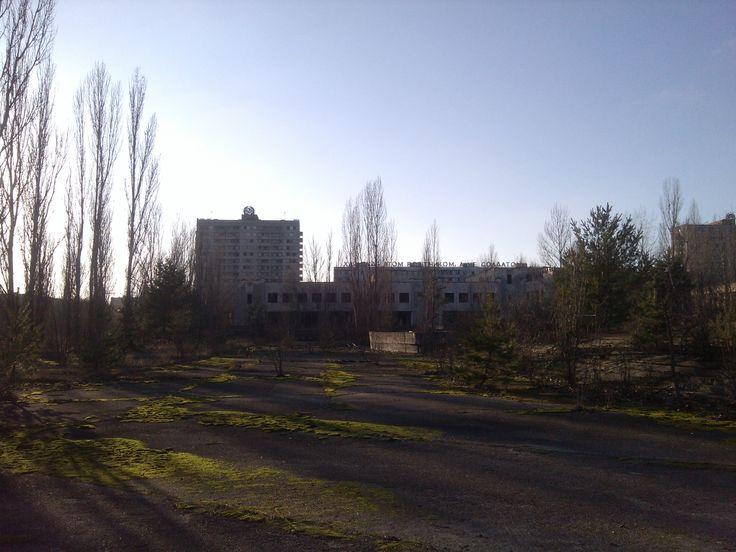 Central Pripyat Square