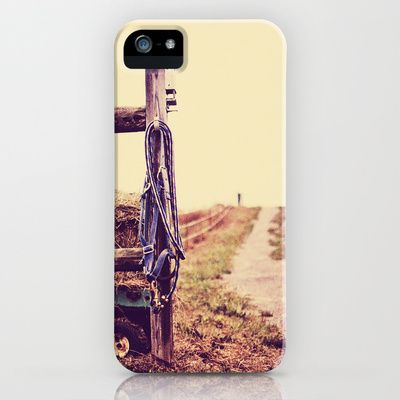 Road Country Farm iPhone Case by Jo Bekah Photography & Design  - $35.00. In love!