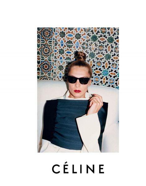 Daria Werbowy for Celine Fall Winter 2013 by Juergen Teller
