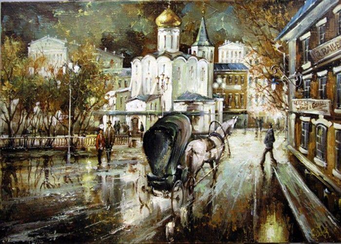 пейзажи художника Сергея Боева – 06