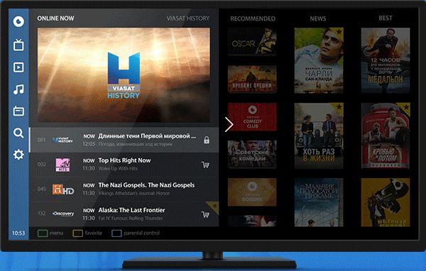 OLL.TV UI