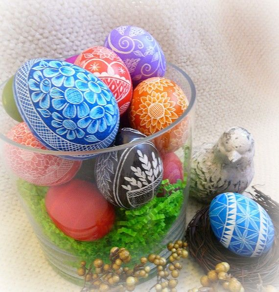 Etched Easter Eggs to be featured on Martha Stewart