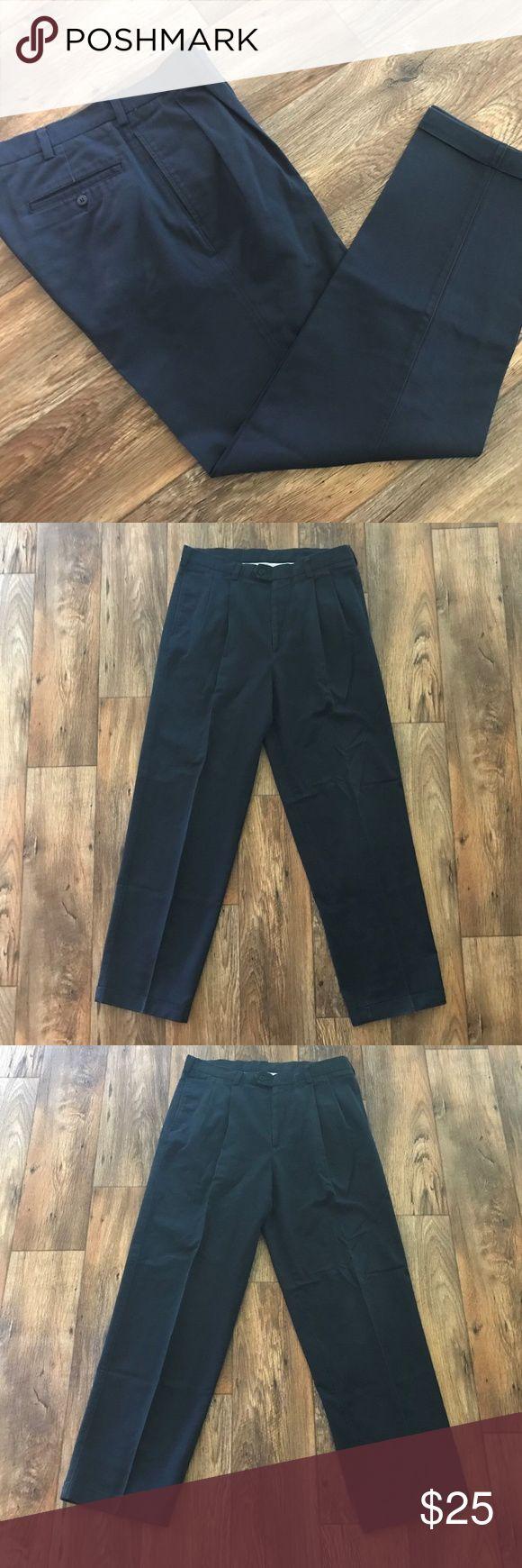 Savane Mens Dress Pant %100 Cotton Navy Blue Dress Savane Mens Dress Pant %100 Cotton Navy Blue Trouser Size 34X32  Brand:Savane  Color: Navy  Size: 34X32  Pre-owned  in good condition Savane Pants Dress