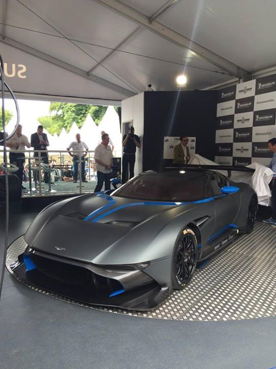 The Aston Martin Vulcan has officially landed at Goodwood Festival of Speed