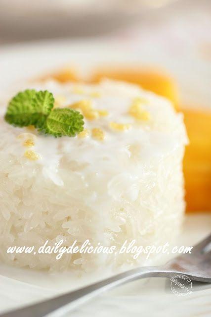 dailydelicious: Happy Cooking with LG SolarDOM: Coconut Milk Stick...