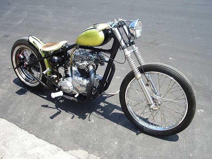 Four Aces Cycle Supply Custom Built Triumph, BSA, Norton & Harley Davidson Motorcycles