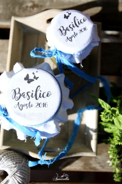 La mia barbottina: The best way to preserve basil.