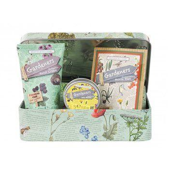 The Gardeners Twine Unwind Gift Set, Fresh From Heathcote U0026 Ivory, Contains  Hand Wash, Hand Cream, Bath Soak Plus Two Spools Of Stripey Twine.