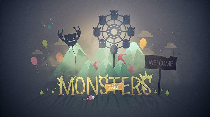 Tutoriel créer un graphisme et une animation sur le thème des monstres et de la fête foraine. Un condensé de nos formations publiées en motion design.