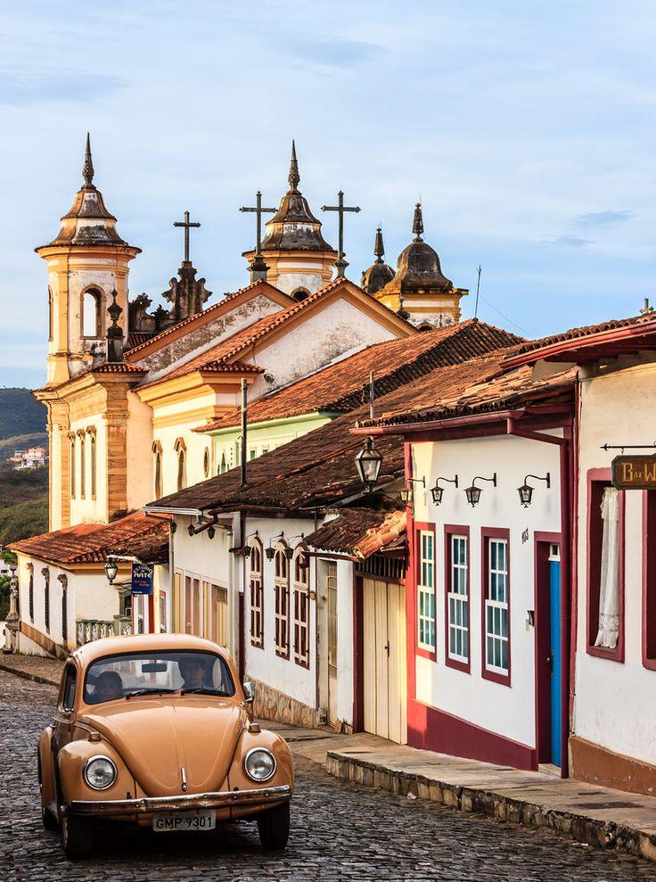 Mariana, uma cidade histórica do estado de Minas Gerais, Brasil.