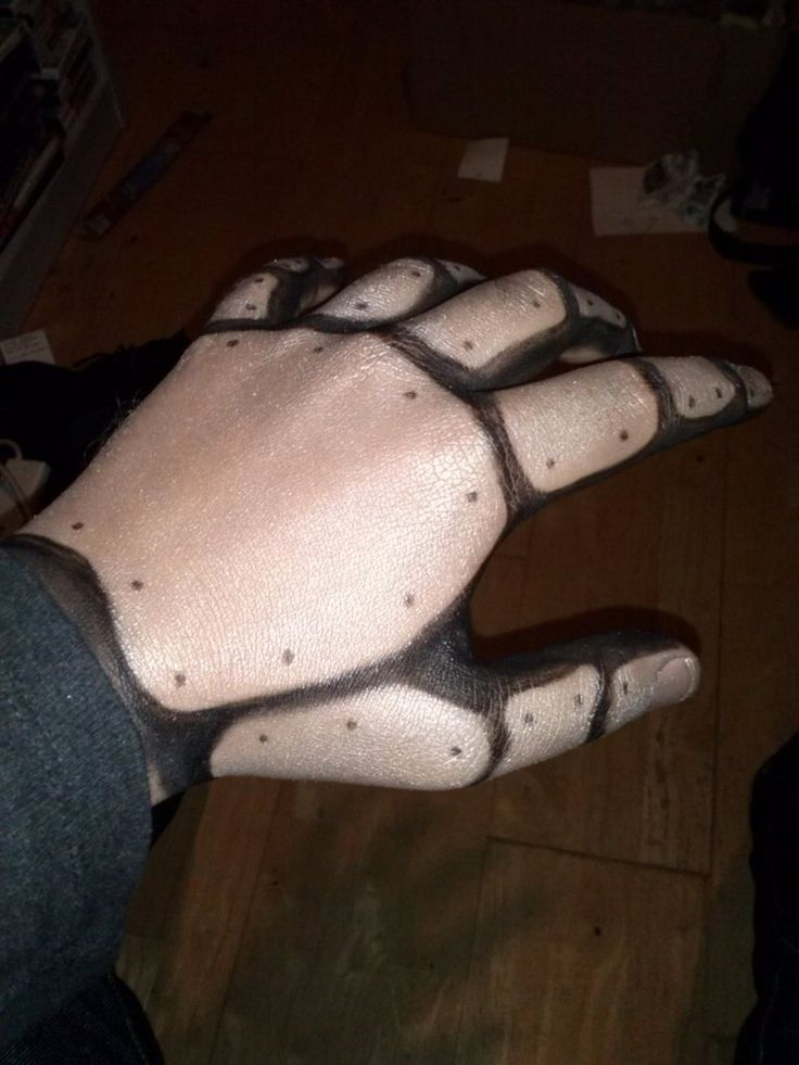 Steampunk Robot Makeup (Hand) by Happy-Pappy on deviantART