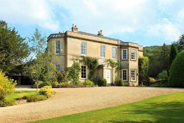 Regency House near Bath.