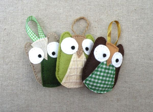 DIY:  Cute Owl Ornament....instructions and pictures!