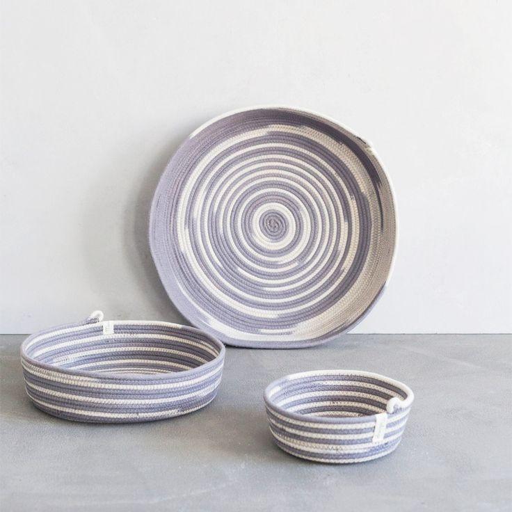 Table Basket - fog- by Mia Mélange