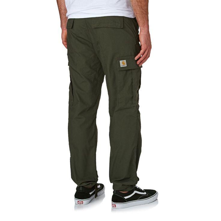 Carhartt Regular Cargo Pants - Cypress Rigid