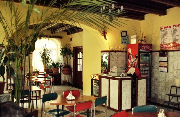 """Bar Mleczny """"pod Barbakanem"""" / """"pod Barbakanem"""" Milk Bar. Nice, quiet, spacious place. Great cucumber soup."""