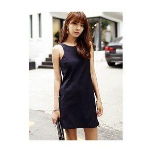 [픽키스트] korea fashion 챠밍 ops 뒤쪽 반전 원피스 확인 - 48,800원 by 다홍