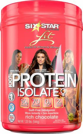 Six Star Pro Nutrition Fit 100% Protein Isolate Is A High-Quality Blend of Protein Isolate for Ideal Bioavailability!* Get the Best Prices on Fit 100% Protein Isolate at Bodybuilding.com!