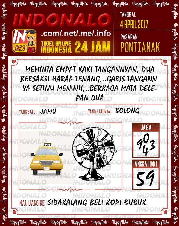 Syair 3D Togel Wap Online Indonalo Pontianak 4 April 2017