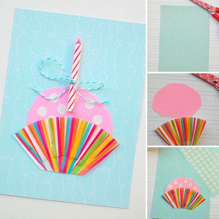 die besten 25 cupcake geburtstagskarte basteln ideen auf pinterest cupcake karte cupcake. Black Bedroom Furniture Sets. Home Design Ideas