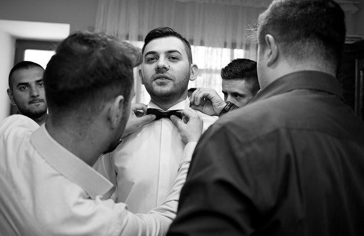 Fotografie de nunta - pregatire mire