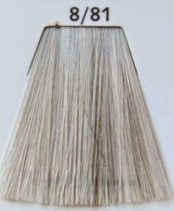 Wella Color Touch 8/81 Rubio claro perla ceniza