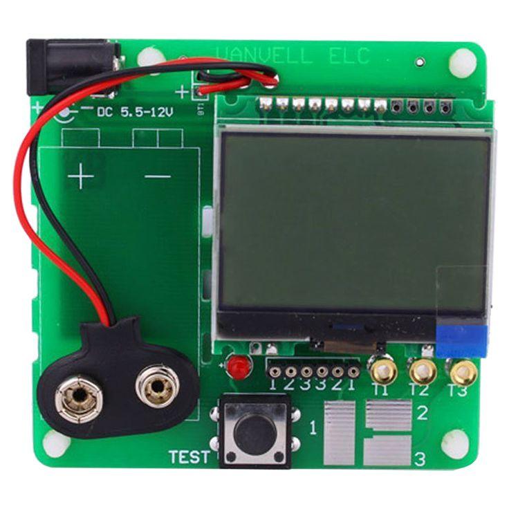 version of inductor-capacitor ESR meter DIY MG328 multifunction test Module #Affiliate