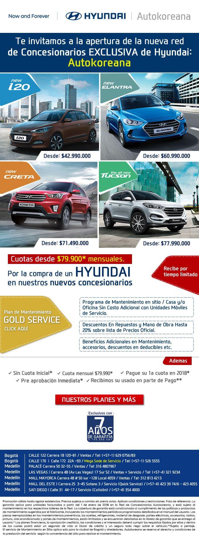 #NOVOCLICK esta con #Hyundai #Concesionarios