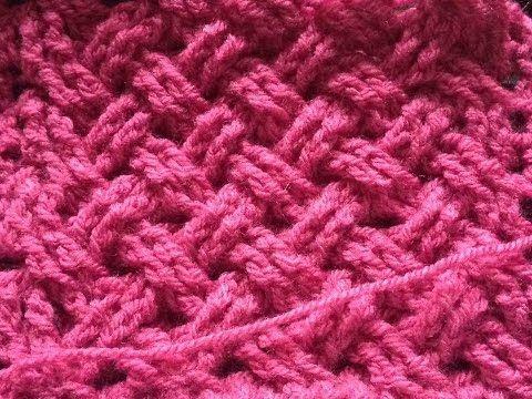 Keltische weefsteek haken- Toer 1,2 en 3 - Celtic weave stitch crochet - YouTube
