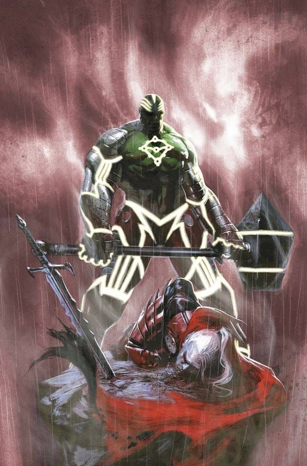Fear Itself: Hulk vs Dracula #03 Cover) By: Gabriele Dell'Otto