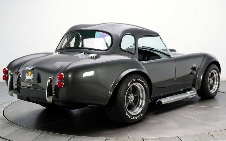 pinterest.com/fra411 #classic #roadster - ac cobra with roof