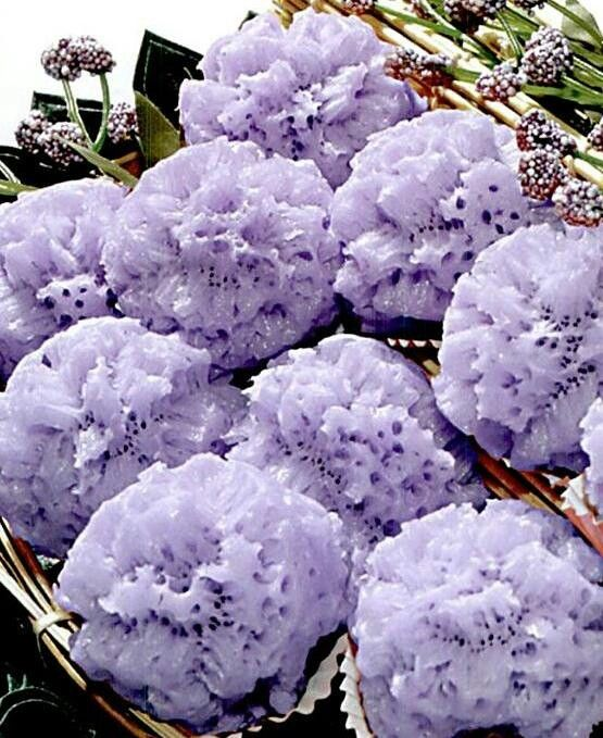 Kue Carabikang ungu