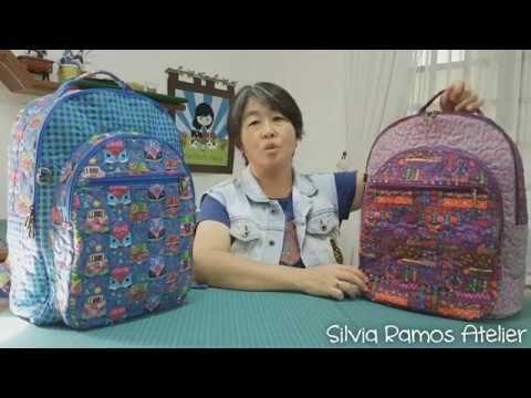 Trailer Vídeo Aula - Mochila SRAFev17 - Projeto Silvia Ramos Com inclusão em grupo fechado no Facebook, para esclarecimento de dúvidas e/ou sugestões somente...
