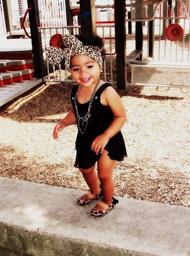 27 Stylish And Cute Babies. She looks like she could be mine. Lol
