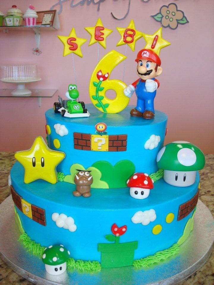 Mario Brother Cake Images : mario bross cake Mario Bross Party Pinterest Mario ...