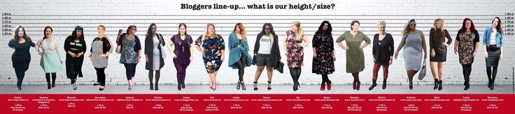Dutch Bloggers line-up #teamcurvy #xlfashionfile #plussizeblogger