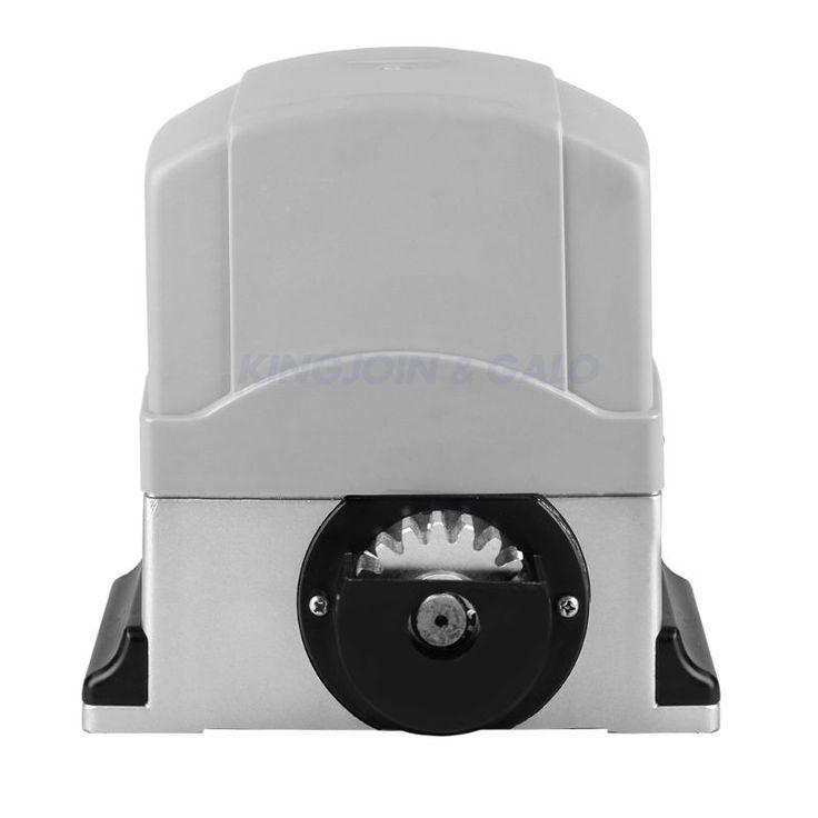 AC220V ~ AC240V Motor Powered Auto Sliding Gate Opener w/ 6m Nylon Rail