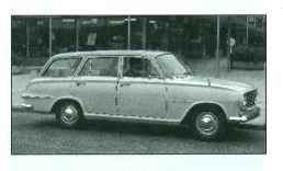 VICTOR FB 1961-63/1963-64 (prod:328,640). Saloon, estate car. F/R, 1508cc / 1595cc (S4 OHV). The flutes have gone at last, but the re-style makes for a far more attractive - and less rustprone - shape. There's also more room, both in the boot and for passengers. Pressurised cooling, side chrome on De Luxes, and an all-synchro four-on-the-floor option. Bigger engines and clutches, plus a new facia for '64, when servo front disc brakes became available.