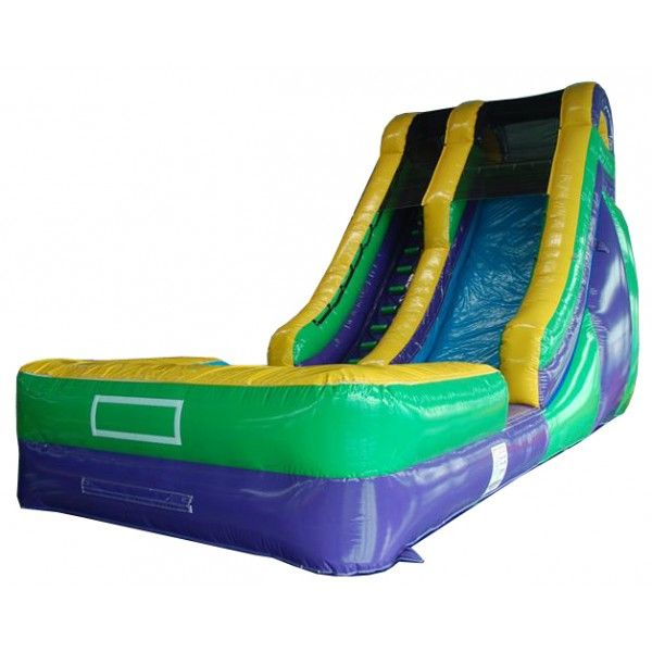 23' Wet/Dry Slide, Wow what a slide. www.flosinflatables.com