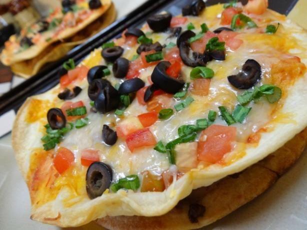 Taco Bell Mexican Pizza copy cat