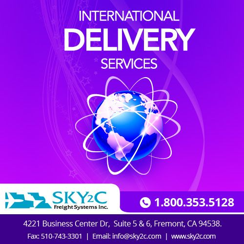 Looking for an #international #delivery services? #Sky2c provides domestic and international cargo delivery at the most affordable rates!