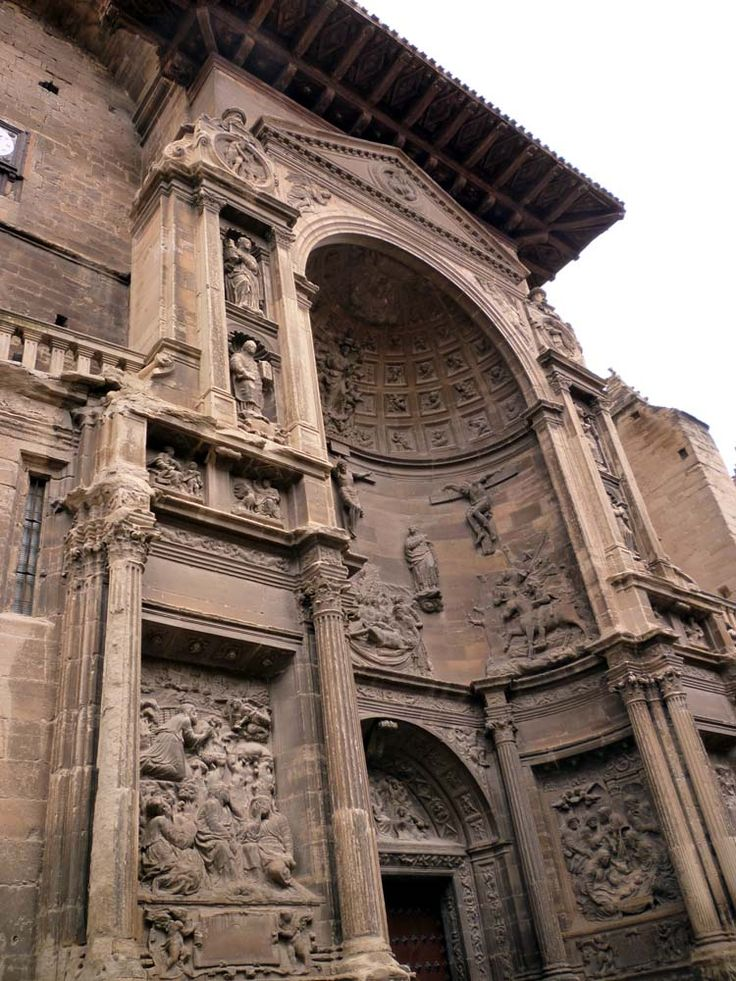 iglesia de santa maría viana portada | Camino de Santiago. Iglesia de Santa María de Viana ...