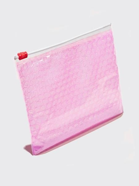 Glossier Bubble Wrap Pouch